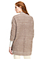 Le Cardigan Ouvert Donegal Manches 3/4, Femme Stature Standard