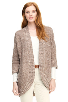 Women's Donegal Lofty Cotton Open Cardigan