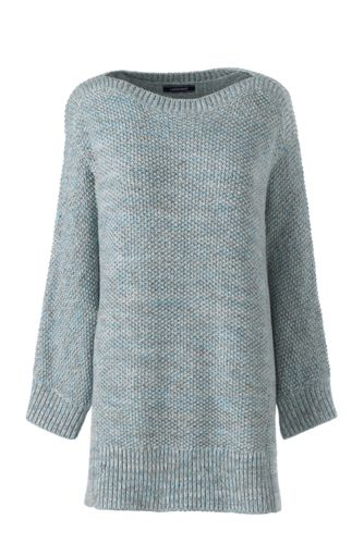 Le Pull Long Ample Donegal Manches 3/4, Femme Stature Standard