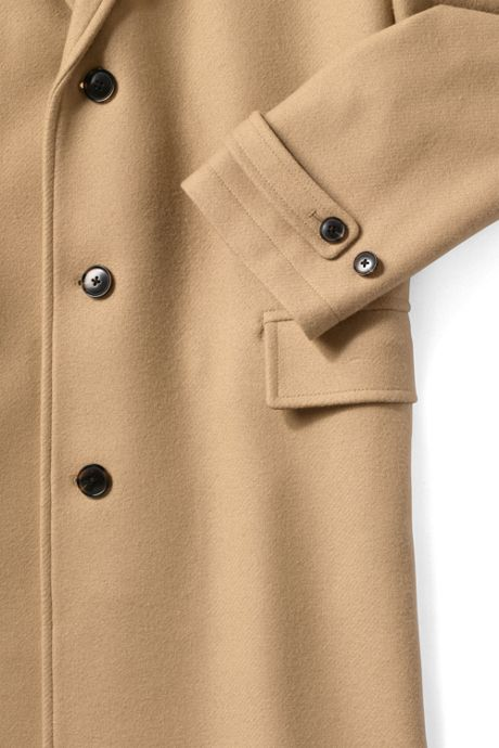 Men's Wool Top Coat