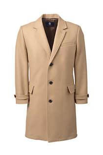 Men's Wool Overcoat, Front