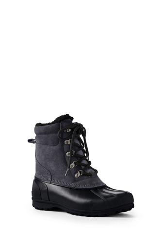 Men's Lined Winter Duck Boots