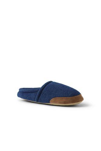 Men's Fleece Scuff Slippers
