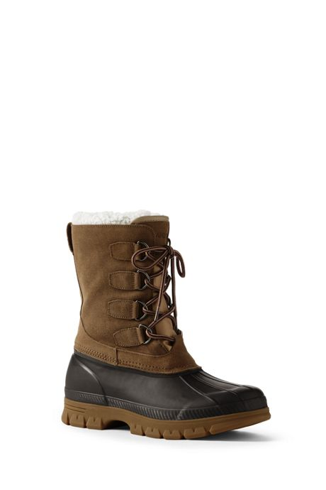Men's Expedition Suede Winter Snow Boots