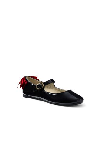 Girls Mary Jane Bow Ballet Flats by Lands' End