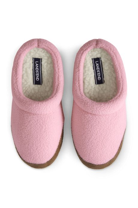 Kids Fleece Scuff Slippers