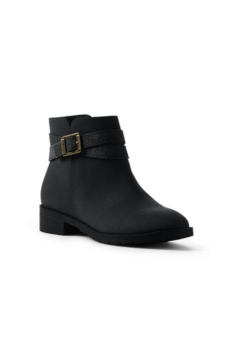 Girls Ankle Wrap Booties
