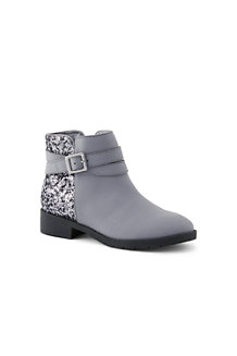 Girls' Buckle Ankle Boots