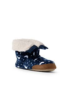 Kids' Fleece Bootie Slippers