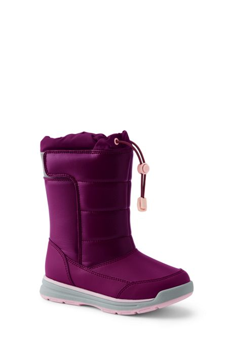 School Uniform Toddler Snow Flurry Winter Boots