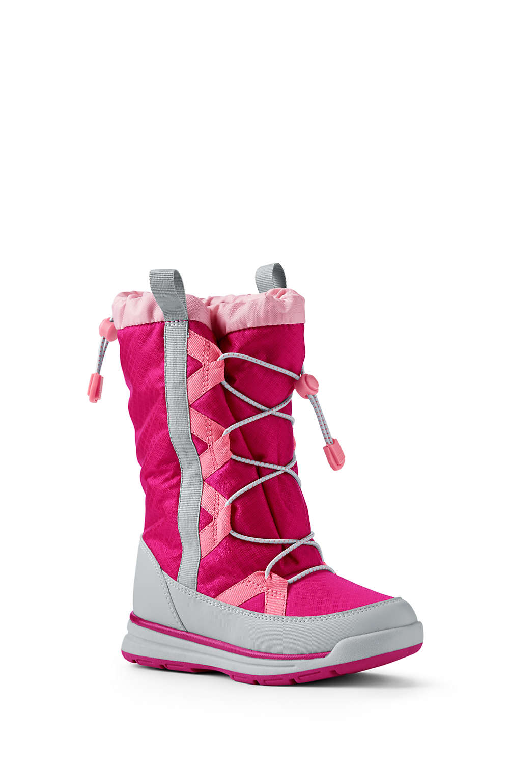 kids squall snow boots from lands end