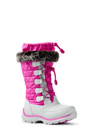 Girls Snowflake Winter Snow Boots
