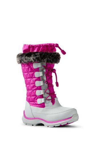 Girls' Snowflake Boots