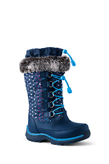 Girls' Snowflake Boots