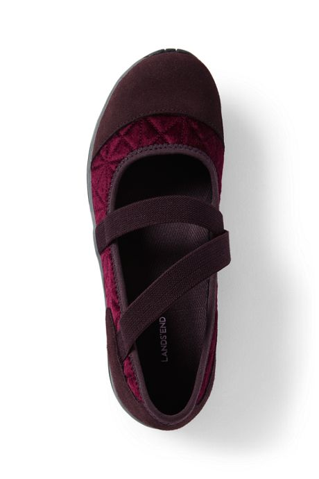 Women's Wide Comfort Mary Jane Shoes
