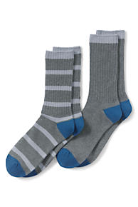 Mens Socks (2-pack) - XL - BLUE Lands End Clearance Wiki Under 70 Dollars 6SmndlDYo5