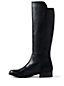 Women's Leather/Stretch Boots