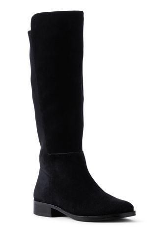 Deals Online Womens Wide Classic Riding Boots - 4.5 - BLACK Lands End Shop For Cheap Online For Sale Very Cheap Cheap Price Low Shipping Fee UmRX2aj5v0