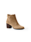 Women's Scalloped Ankle Boots