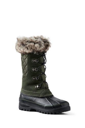 Les Bottes de Neige Alpines, Femme Pied Standard