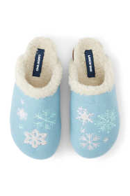 Women's Felt Scuff Slippers