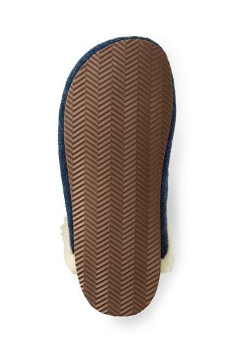 Women's Felt Scuff Slippers