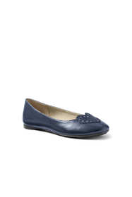 Girls Heart Ballet Flats