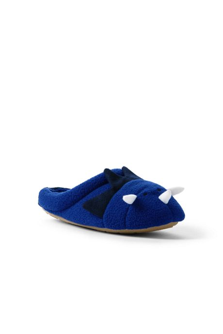 Kids Fleece Critter Scuff Slippers
