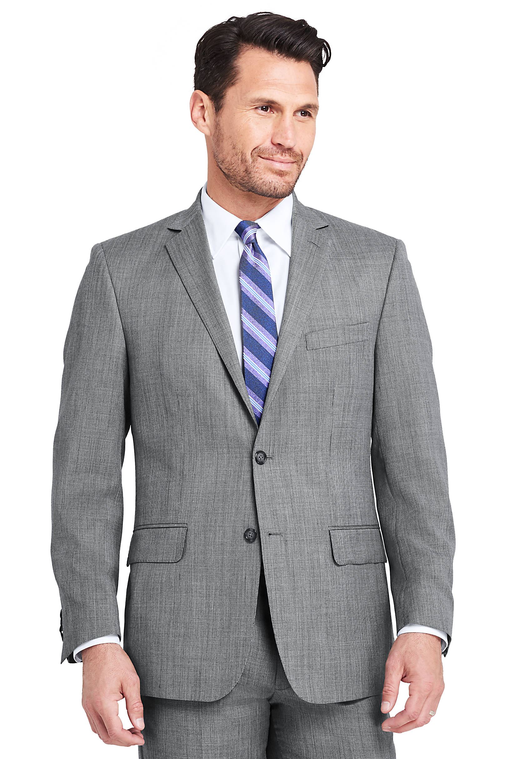 Lands End Men's Traditional Fit Year Rounder Suit Jacket