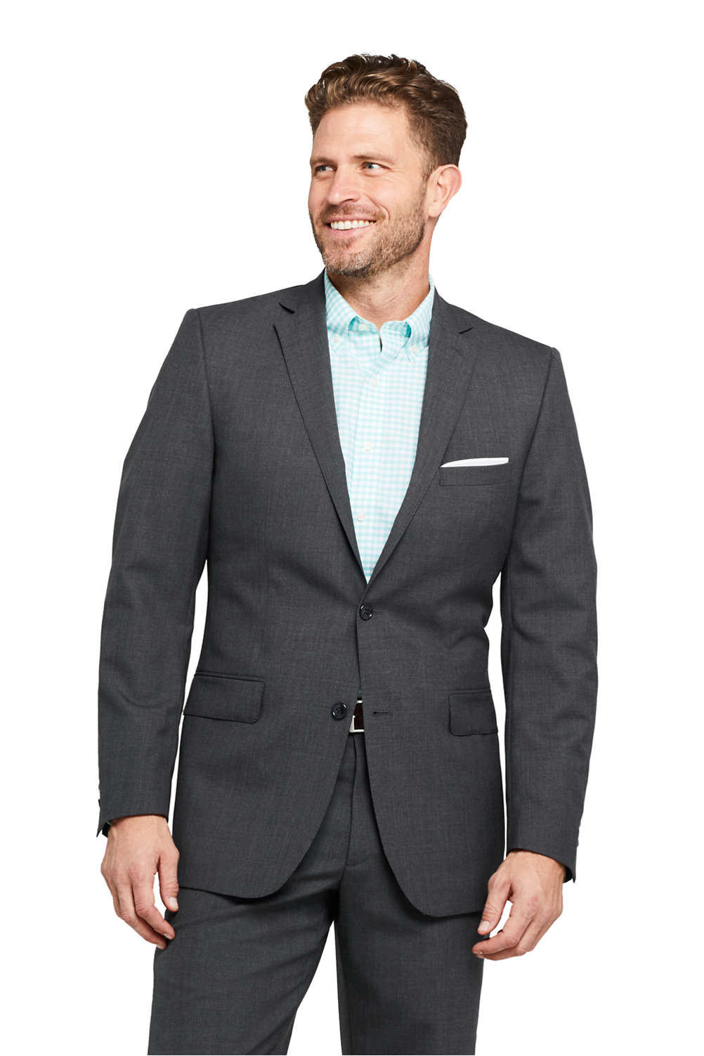 b3be62306a3 Men s Traditional Fit Year rounder Suit Jacket from Lands  End
