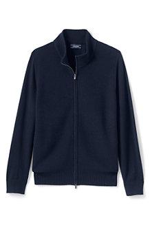 メンズ・ブレザー・セーター/フルジップ/長袖