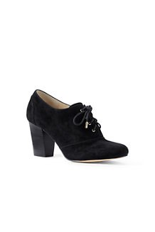 Women's Block Heel Oxford Shoes