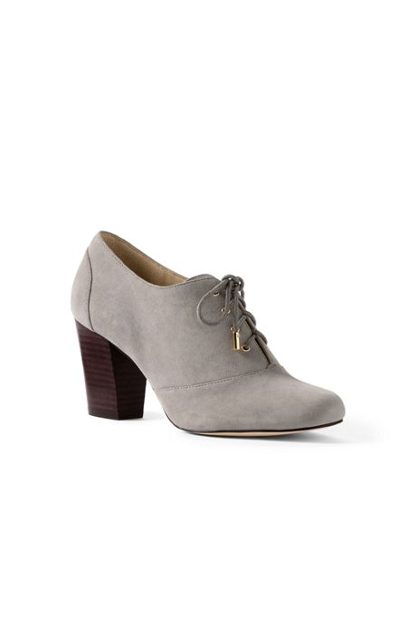 Women's Heeled Oxfords