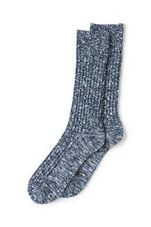 Les Chaussettes Côtelées Chinées, Homme
