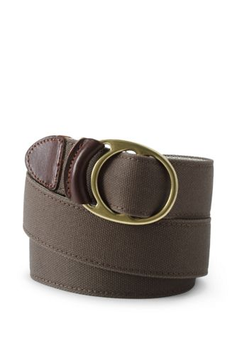 Men's Waxed Cotton Belt