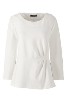 Women's Ponte Pleat Top