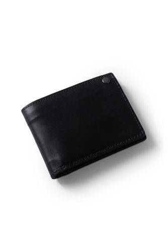 Men's Leather Bi-fold Wallet