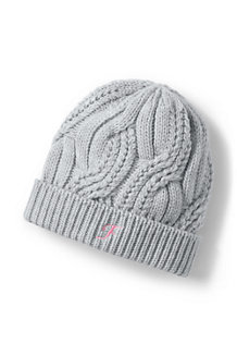 Women's Braided Cable Knit Beanie