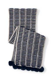 Women's Nautical Stripe Scarf