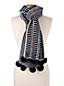 Women's Nautical Striped Scarf