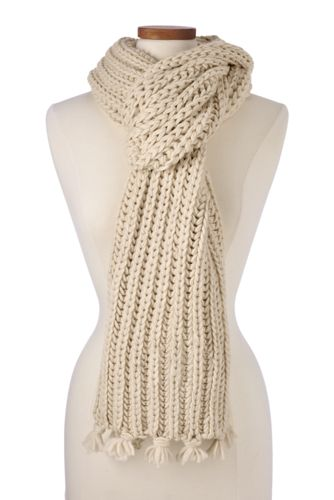 Women's Knit Scarf