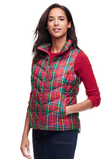 Women's Down Patterned Gilet