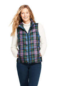 Women's Tall Print Down Puffer Vest