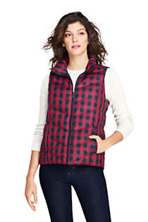 Women's Print Down Puffer Vest, alternative image