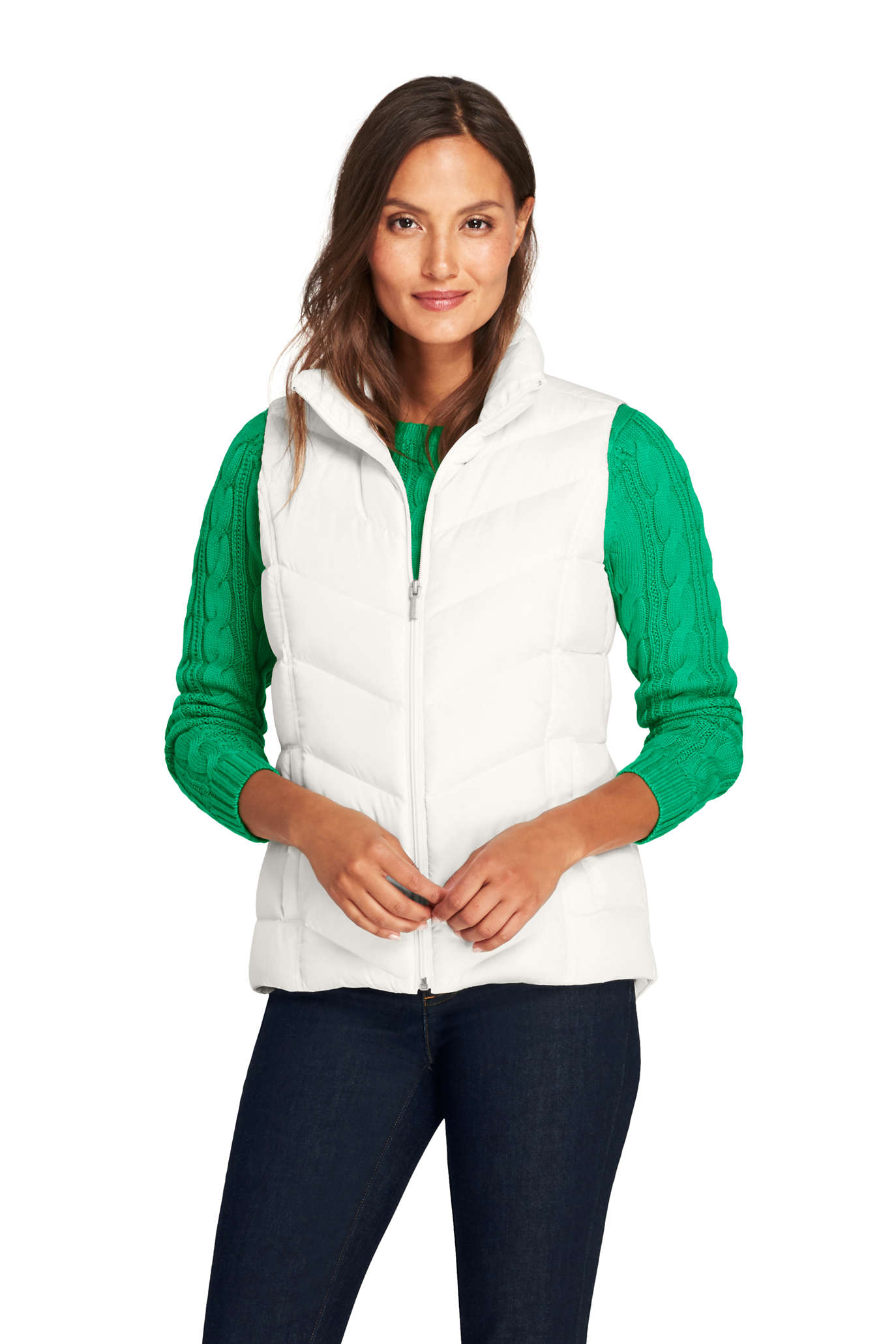 Women's Insulated Quilted Barn Vest