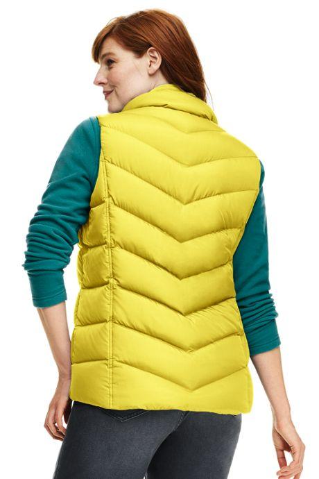 Women's Plus Size Petite Down Puffer Vest