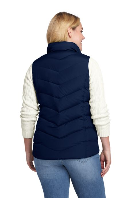 Women's Plus Size Down Vest