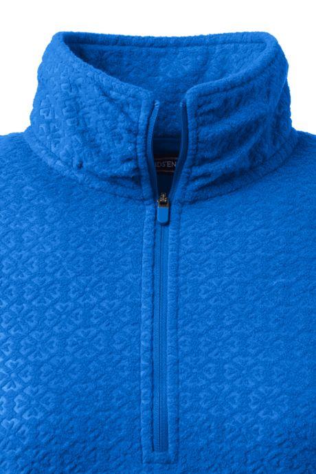 Women's Petite Fleece Quarter Zip Pullover