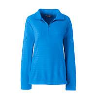 LandsEnd.com deals on Lands End Mens Fleece Quarter Zip Pullover