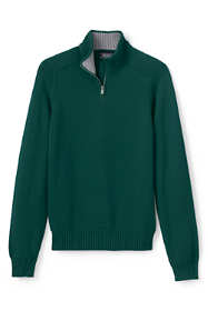 Men's Cotton Drifter Jersey Quarter Zip Sweater